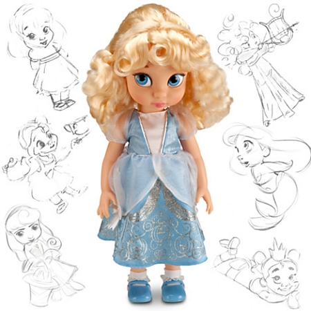Disney Animators Collection Doll - Cinderella - 16'' H