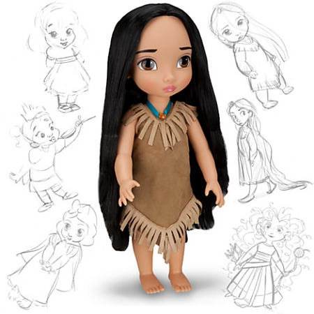 Disney Animators Collection Doll - Pocahontas - 16'' H