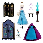 Disney Doll Play Set - Frozen Elsa Wardrobe Set