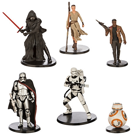 Disney Action Figure Play Set - Star Wars - The Force Awakens