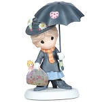 Disney Precious Moments Figurine - Practically Perfect in Every Way
