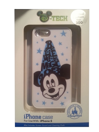 Disney Iphone 5 Case - Sorcerer Mickey Mouse - Believe in Magic 2013