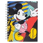 Disney Spiral Journal - Mickey Mouse 80s Flashback - Black