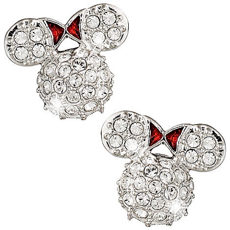 Disney Arribas Earrings - Minnie Mouse Icon - Domed