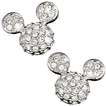 Disney Arribas Earrings - Mickey Mouse Icon - Domed