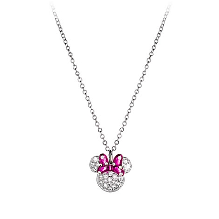 Disney Arribas Necklace - Minnie Mouse Icon Bow