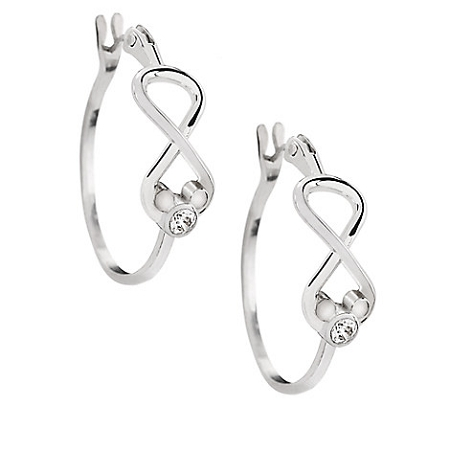 653f7a93bf009 Disney Arribas Brothers Earrings - Mickey Mouse Infinity Hoop
