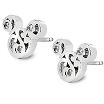 Disney Arribas Brothers Earrings - Mickey Mouse Filigree Icon