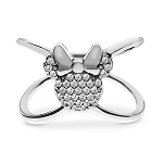 Disney Rebecca Hook Ring - Minnie Mouse X Ring - Silver
