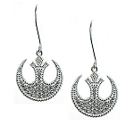 Disney Rebecca Hook Earrings - Rebel Alliance Starbird - Star Wars