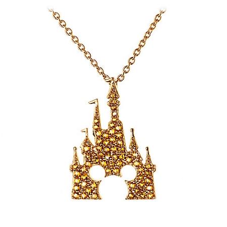 Disney Castle Necklace