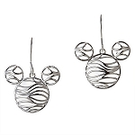 Disney Rebecca Hook Earrings - Mickey Mouse Wave Icon