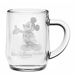 Disney Arribas Glass Mug - Mickey Mouse - Personalizable