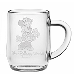 Disney Arribas Glass Mug - Minnie Mouse - Personalizable
