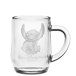 Disney Arribas Glass Mug - Stitch - Personalizable