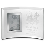 Disney Arribas Photo Frame - Mickey Mouse And Castle