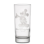 Disney Arribas Glass Tumbler - Mickey Mouse - Personalizable