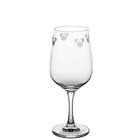 Disney Wine Glass - Personalizable Minnie Mouse Icon by Arribas