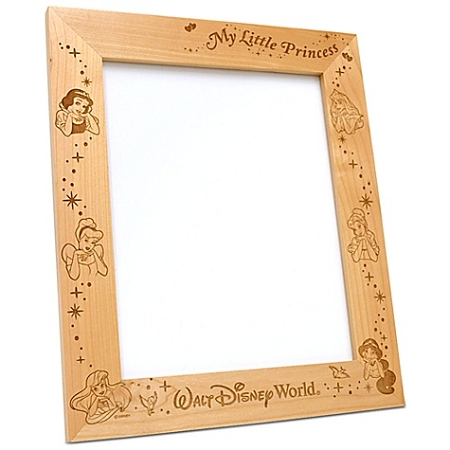 Disney Wood Photo Frame - Disney Princesses - by Arribas - 8'' x 10''