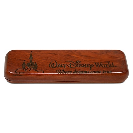 Disney Arribas Pen Case - Personalizable Rosewood Single Pen Case