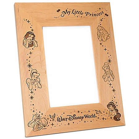 Disney Wood Photo Frame - Disney Princesses - by Arribas - 4'' x 6''