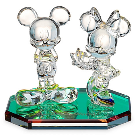 Disney Arribas Figurine - Mickey and Minnie Mouse Pose