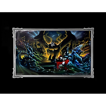 Disney Art Print - Sorcerer Mickey Mouse - Great Flood