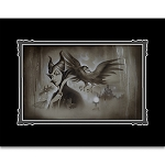 Disney Art Print - Maleficent - My Pet You Are My Last Hope