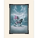 Disney Art Print - Mickey and Minnie Mouse - Alaska Adventure