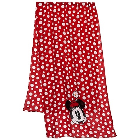 Disney Scarf - Polka Dot Minnie Mouse