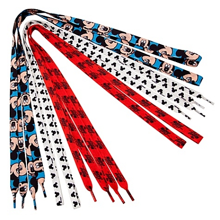 Disney Shoelaces - Mickey Mouse-- 3-Pack
