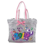 Disney Tote Bag - 2012 Pastel Pink - Walt Disney World Bag