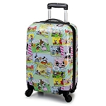 Disney Luggage - Comic Strip Rolling Mickey Mouse Suitcase -- 20''