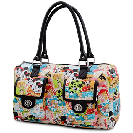 Disney Handbag - Classic Collage Purse - Mickey Mouse & Friends