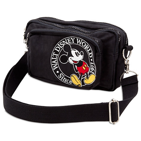 Disney Waist Pack Bag - Mickey Mouse - Walt Disney World Logo
