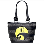 Disney Harveys Bag - Carriage Tote - Jack Skellington & Sally Moon
