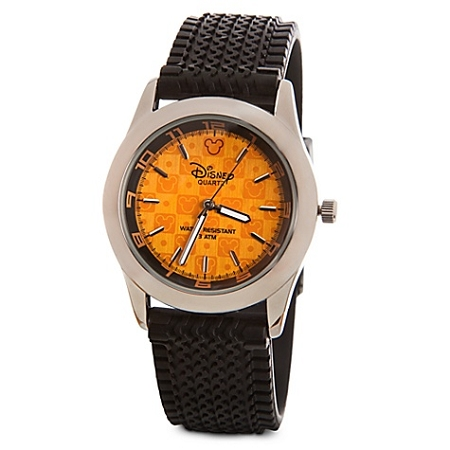 Disney Wrist Watch - Orange Mickey Mouse for MEN