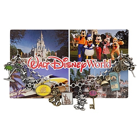 Disney Charm Bracelet - Classic Postcard Walt Disney World