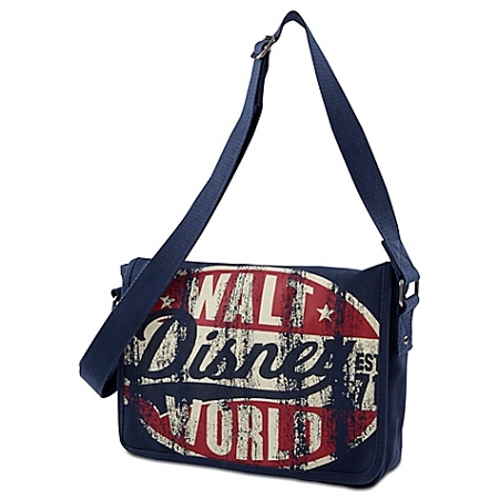 Disney Messenger Bag - Canvas Walt Disney World Tote