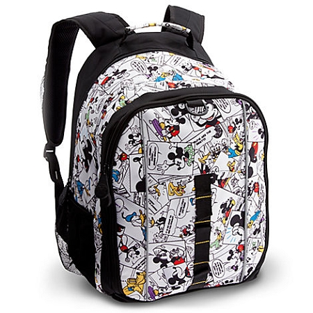 Disney Backpack Bag - Comic Strip Mickey Mouse