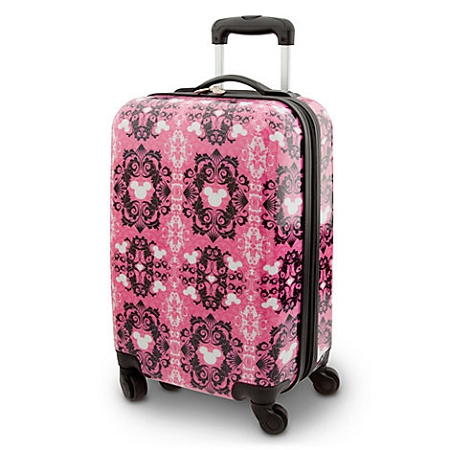 Disney Rolling Luggage -  Pink Mickey Mouse Icon -  20