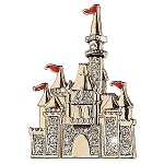 Disney Brooch Pin - Sleeping Beauty Castle