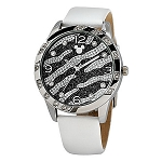 Disney Wrist Watch - Mickey Mouse Zebra Stripe