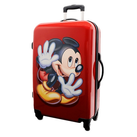 Disney Rolling Luggage - Mickey Mouse Stow-Away Luggage - 26''