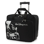 Disney Rolling Luggage - Mickey Mouse Design - Black and White - 15
