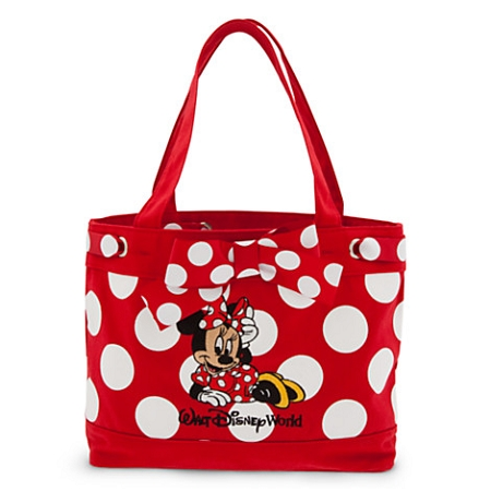 Disney Purse Bag for Girls - Minnie Mouse Polka Dot Purse - Red