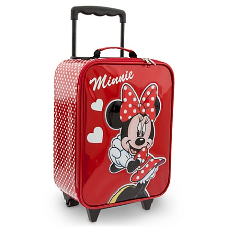 Disney Rolling Luggage - Minnie Mouse Signature