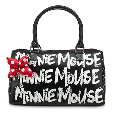 Disney Purse Bag - Minnie Mouse Polka Dot Purse - Black