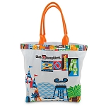 Disney Tote Bag - 2014 Retro Park Icons - Walt Disney World