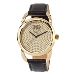 Disney Wrist Watch for Women - Minnie Mouse Icon - Golden Ears